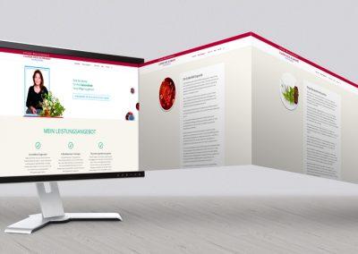 webdesign mit wordpress heilpraktiker von gina koch design