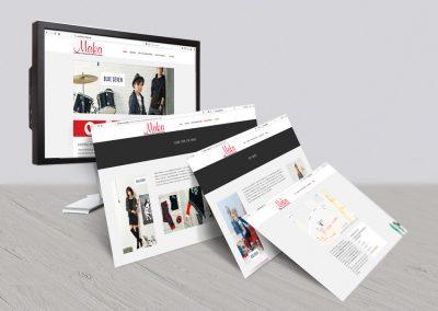 webdesign mit wordpress Kaufhaus Maka Spaichingen webdesign gina koch design