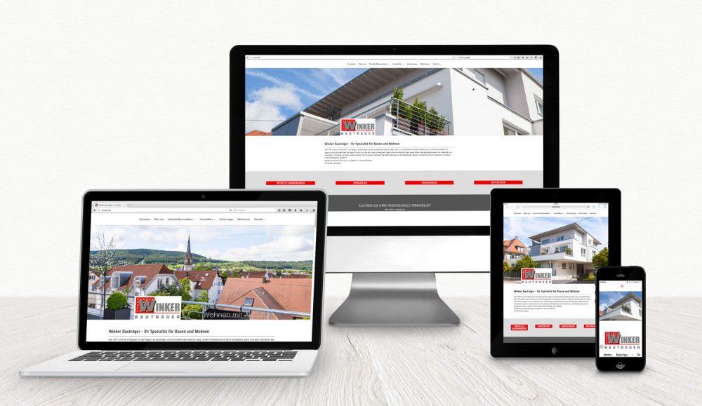 webdesign mit wordpress von gina koch design winker bauträger