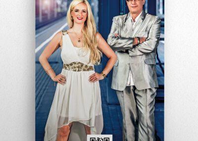 Rollup für das Vater-Tochter-Duo Ray & Celin