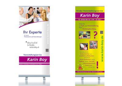 Rollups für den Veranstaltungsservice von Karin Boy